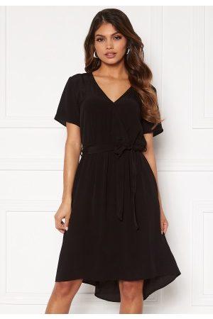 Vila Primera Wrap S/S Dress Black 40
