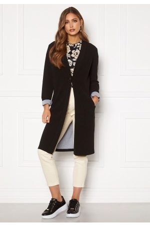 Happy Holly Stefanie tricot coat Black 52/54