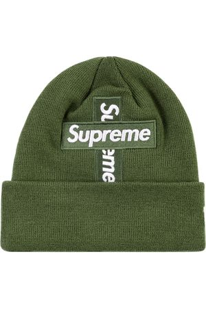 "Supreme Mössor - New Era cross box-logo beanie ""FW 20"""