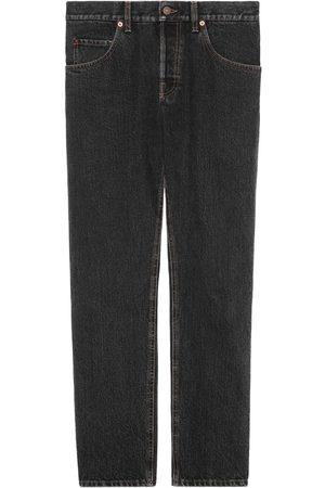 Gucci Man Jeans - Stentvättade tapered-jeans