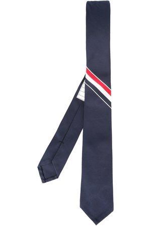 Thom Browne Man Slipsar - Randig slips i grosgrain