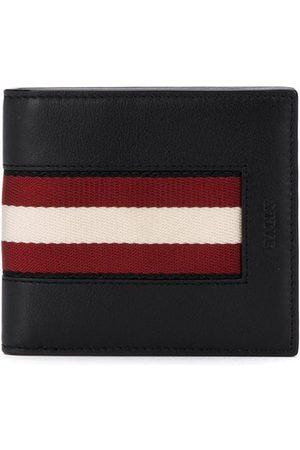 Bally Randig dubbelvikt plånbok