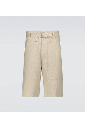 Isabel Marant Paolino cotton and linen shorts