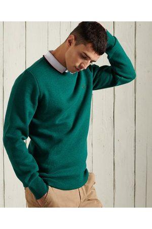 Superdry Orange Label klassisk rundhalsad sweatshirt