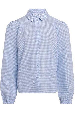 Grunt Skjorta - Ora Check Shirt - Light Blue