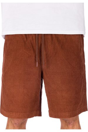 Blue Tomato Man Shorts - Cord Easy Shorts dark brown