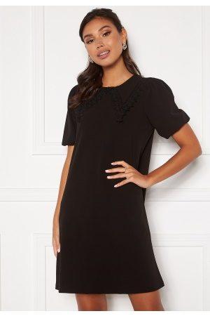Vero Moda Valentina Collar Dres Black L