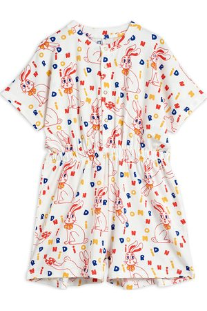 Mini Rodini Mr Rabbit Aop Summersuit Jumpsuit Multi/mönstrad