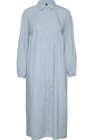 YAS Trio Ls Midi Shirt Dress S. Maxiklänning Festklänning