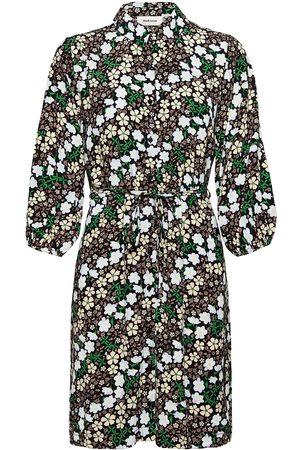 Modstrom Harlow Print Dress Kort Klänning Svart