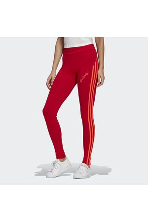 adidas Adicolor Sliced Trefoil High-Waisted Tights