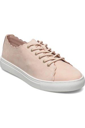 Dasia Starlily Sweet Lace Up Låga Sneakers Creme