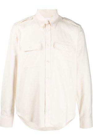 Helmut Lang Långärmad skjorta med remmar