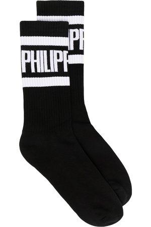 Philipp Plein Strumpor med logotyp