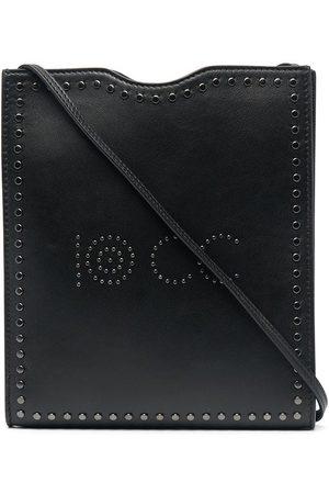 10 CORSO COMO Axelväska med logotyp och nitar
