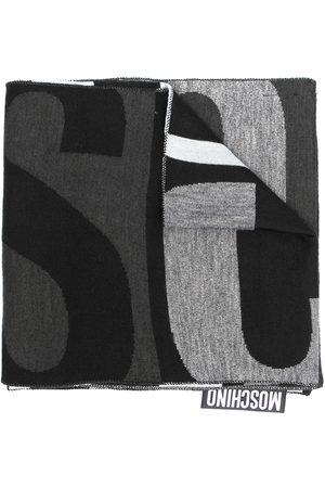 Moschino Halsduk i ullblandning med logotyp