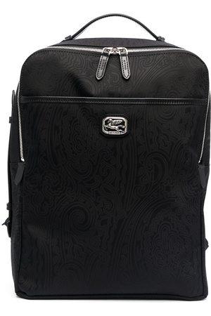 Etro Paisleymönstrad ryggsäck