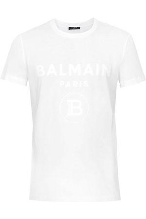 Balmain T-shirt med logotyp