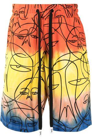HACULLA Shorts med grafiskt tryck