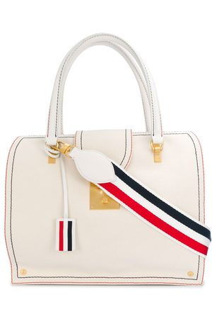 Thom Browne Mrs. Thom tote-väska med kontrastsöm