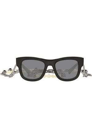 Dolce & Gabbana D-frame solglasögon med kedja