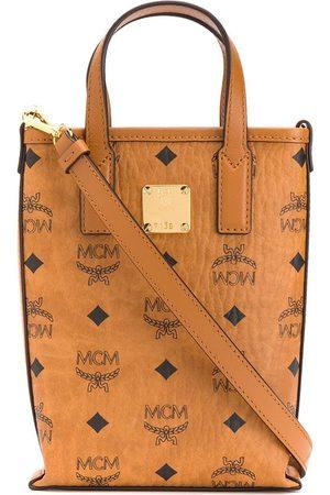 MCM Tote-väska med logotyp