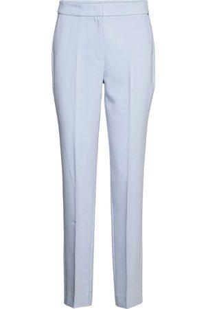 Tommy Hilfiger Kvinna Dressade byxor - Core Suiting Slim Pant Byxa Med Raka Ben