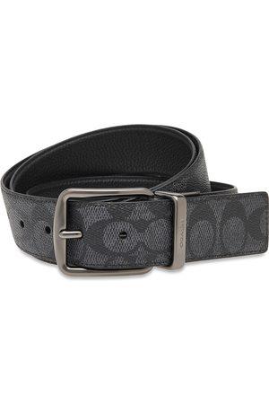 Coach Man Bälten - Wd Hrns Cts Sig Accessories Belts Classic Belts Svart