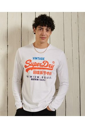 Superdry Man Långärmade - Vintage Logo Tri långärmad tröja