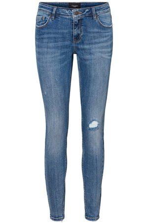Vero Moda Kvinna Skinny - Vmlydia Låga Skinny Fit-jeans Kvinna