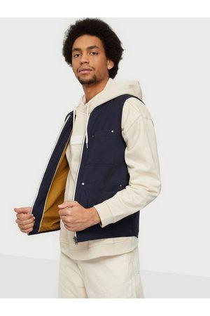 Selected Slhbaker Cotton Vest W Jackor Dark Sapphire