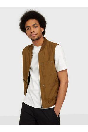 Selected Slhbaker Cotton Vest W Jackor Breen