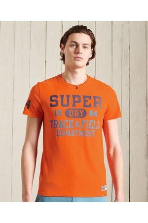 Superdry Man Tröjor - Track & Field normaltjock t-tröja med grafiskt tryck