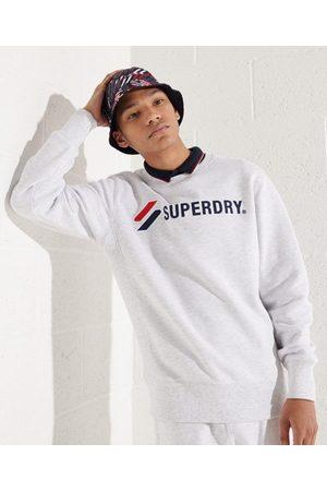 Superdry Sportstyle sweatshirt med påsydda märken