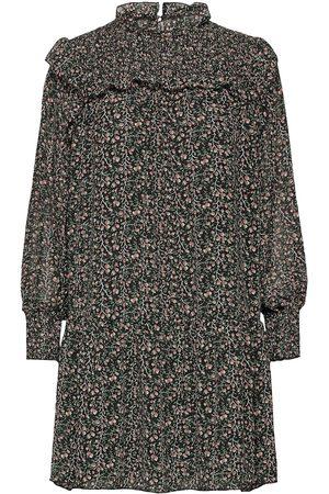 Object Kvinna Festklänningar - Objasta Arya L/S Smock Dress A Lmt 11 Kort Klänning