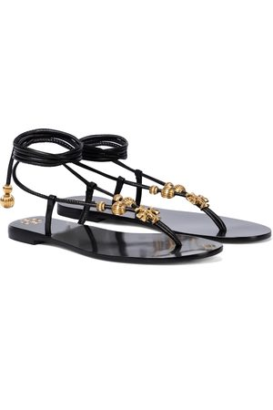 Tory Burch Capril leather thong sandals