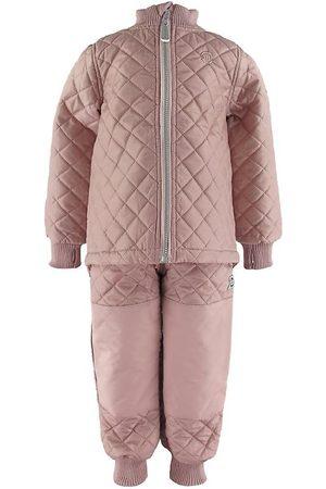Mikk-Line Flicka Skidkläder - Termokläder - Adobe Rose