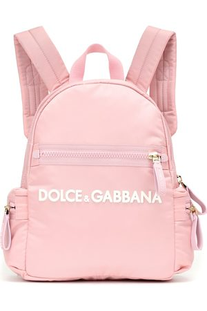 Dolce & Gabbana Logo nylon backpack