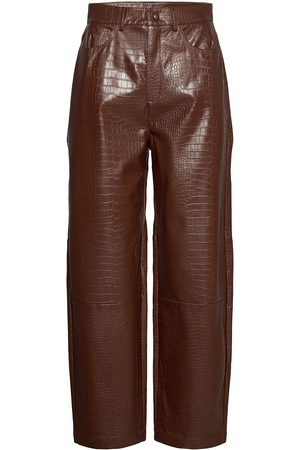 Samsøe Samsøe Myla Trousers 13102 Leather Leggings/Byxor
