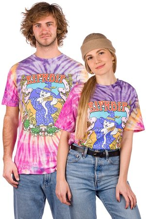 Rip N Dip Wizard T-Shirt teal & purple dye