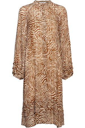 Samsøe Samsøe Elma Shirt Dress Aop 9695 Knälång Klänning Multi/mönstrad