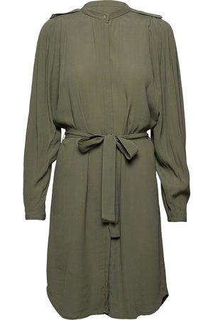 Bruuns Bazaar Lilli Cacilia Shirt Dress Knälång Klänning