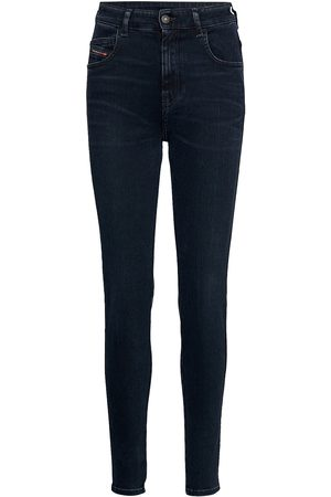 Diesel D-Slandy-High L.34 Trousers Skinny Jeans Blå
