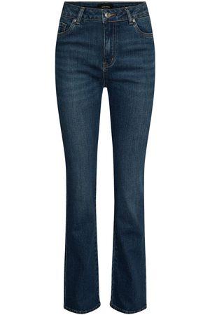 Vero Moda Vmsaga High Waisted Flared Jeans Kvinna