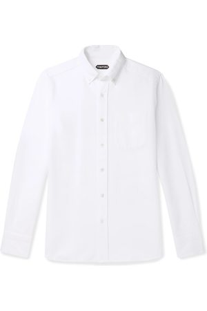 Tom Ford Man Casual - Slim-Fit Button-Down Collar Cotton-Poplin Shirt