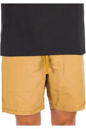 Vans Man Shorts - Range Salt Wash Shorts dried tobacco