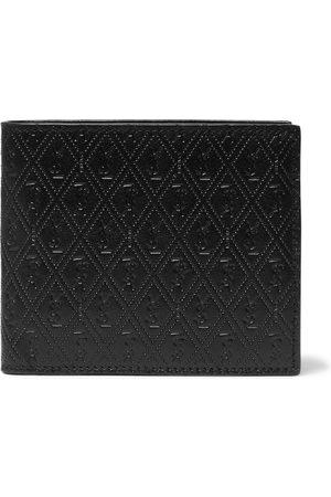 Saint Laurent Man Plånböcker - East/West Logo-Debossed Leather Billfold Wallet