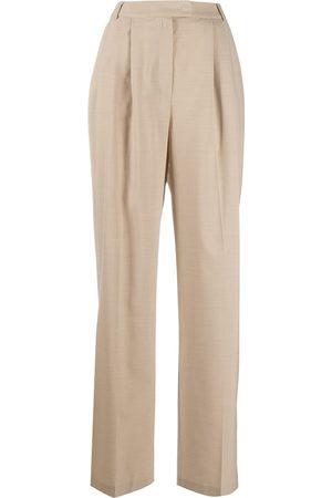 12 STOREEZ Wide leg-byxor med hög midja