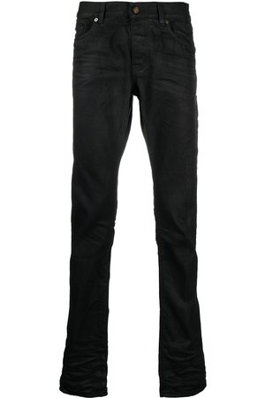 Saint Laurent Straight-jeans med hög midja