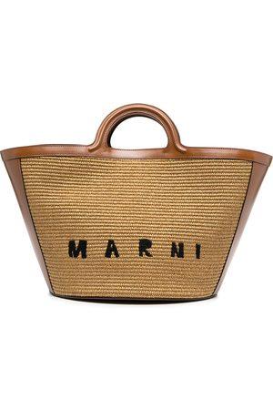 Marni Totebag med broderad logotyp